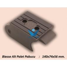 ALT PALET PABUCU 140X74X56MM.